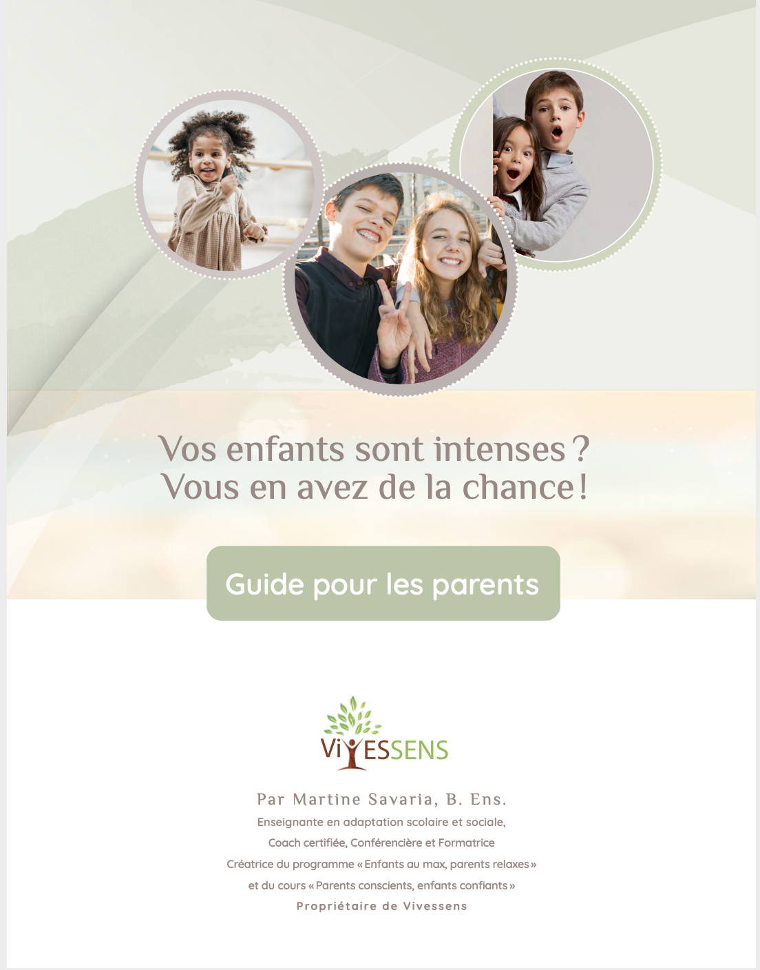 Guide Enfants Intenses